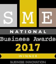 SME National Business Award_Winner_Bus Innovation_2017